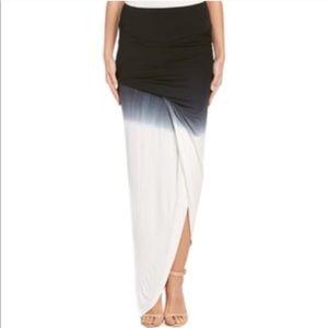 YFB Kulani Ombre Tie Dye Asymmetrical Knit Skirt